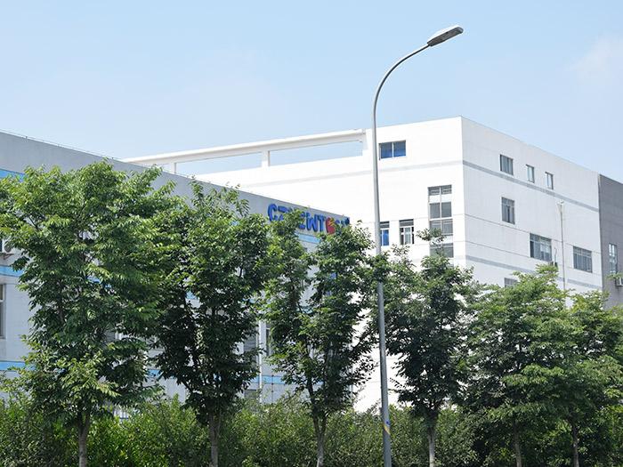 亿东公司基地外景楼房