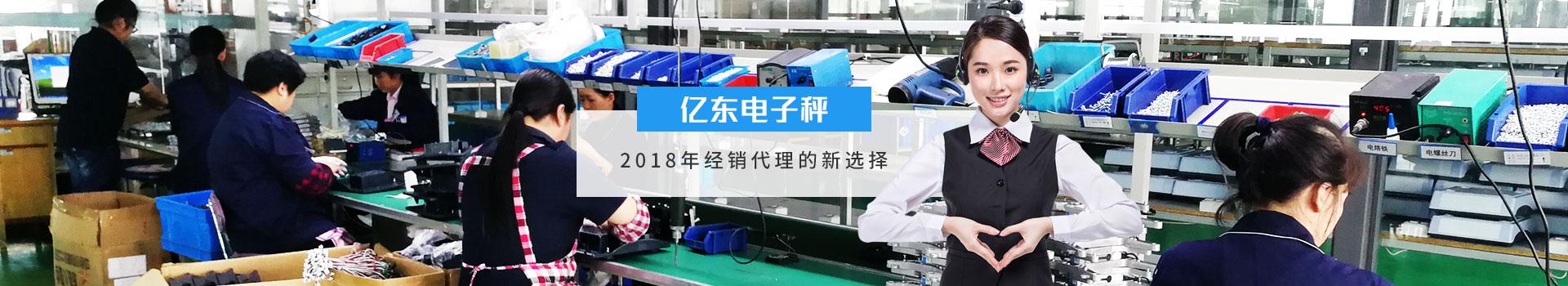 亿东电子秤2018年经销代理的新选择